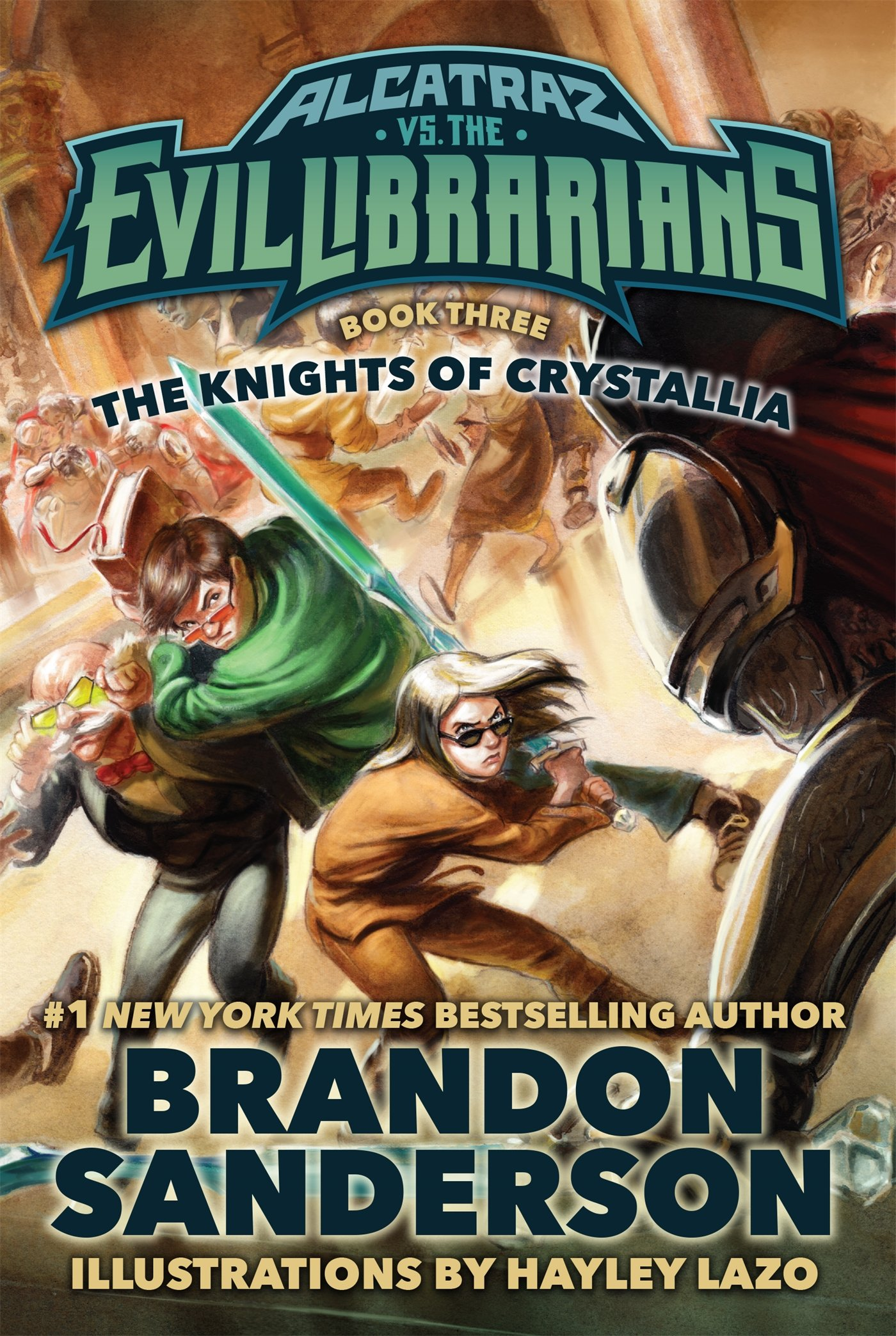 Alcatraz Versus the Evil Librarians – Book 3: The Knights
